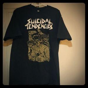 Suicidal Tendencies music tee